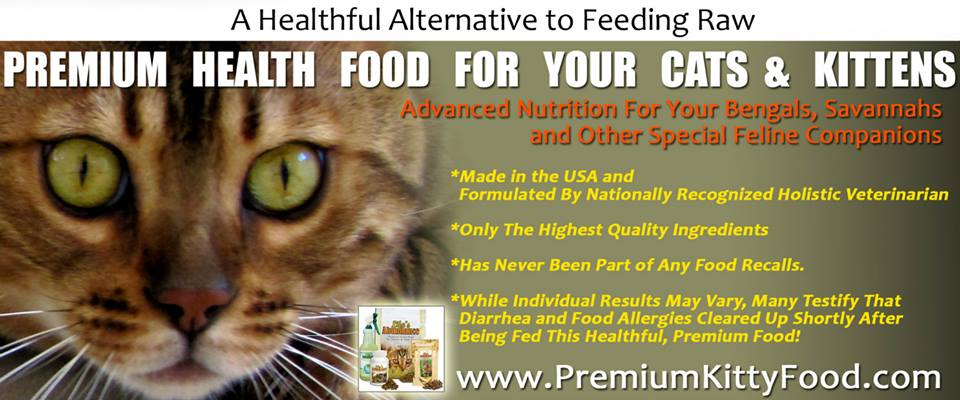 Advanced Nutrition for an Abundant Life for Cats & Kittens - www.HealthyKittyFood.com